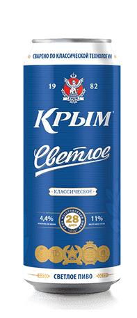 Пиво Крым 0,5л ж/б