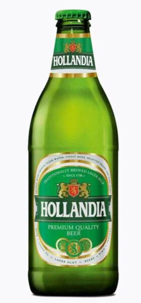 Пиво Hollandia 0,45л стекло