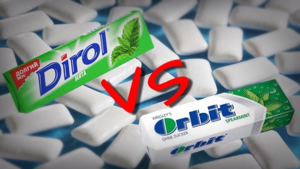 orbit vs dirol