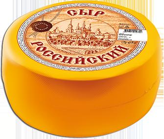 5 Сыр Вкуснотеево Российский