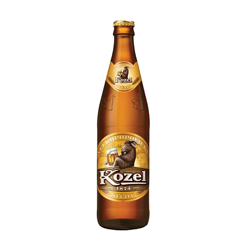 Пиво Kozel 0.5л