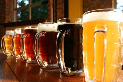 цвета пива